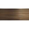 Soft Flex Wire .019 Dia. 100 F T. 49 Strand Antique Brass